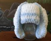 Floppy Ear Fluffy Bunny Hat