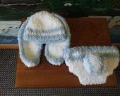 Crochet Floppy Ear Bunny Set