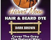 Harvest Moon Dark Brown Hair and Beard Dye