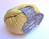 Debbie Bliss Eco Aran 100% Organic Cotton Knitting Yarn 50g - Shade 03 Sand