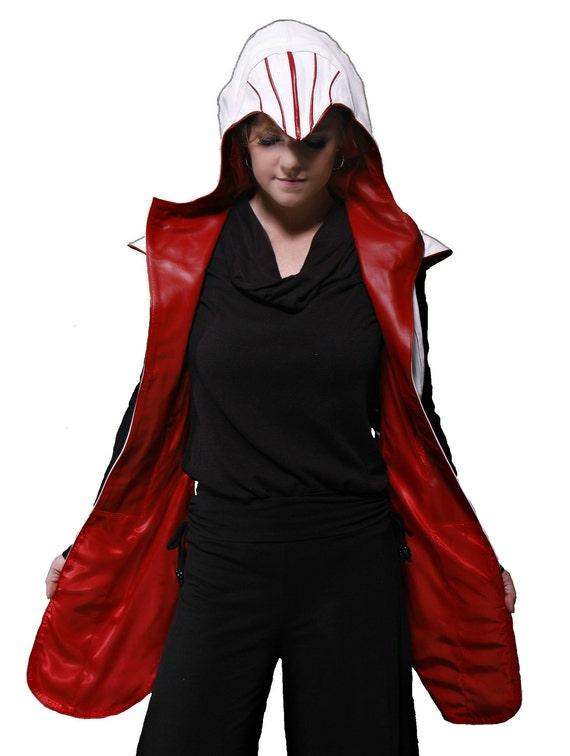 Leather Jacket based on Assassin's Creed by TwistedWorld on Etsy