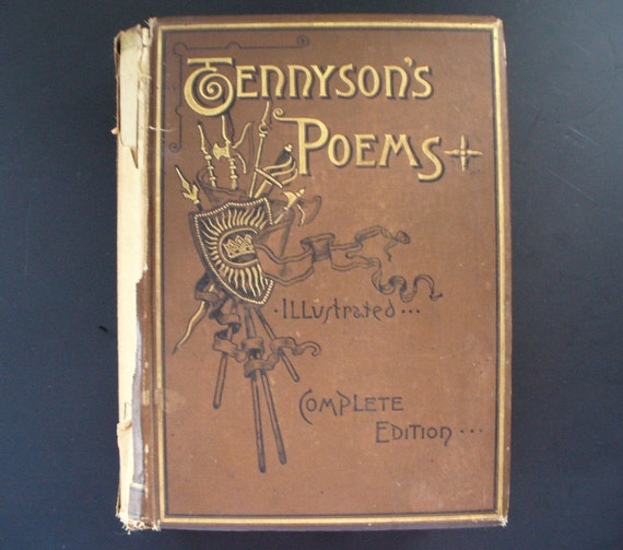 Items similar to 1885 Alfred Lord Tennyson's Poems ...