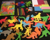 DIY Dinosaur Paper Craft Kit
