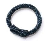 """Abataka Hand-Crocheted Red Tandizo """"Night"""" Bracelet"""