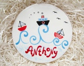 Personalized Coaster / Cake Topper / Door Plaque / Ornament / Kids Wall, Room Decoration