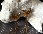 SALE - Long Drop Classic Dangle Earrings