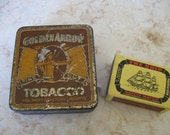 Golden Arrow Fine Cut tobacco tin