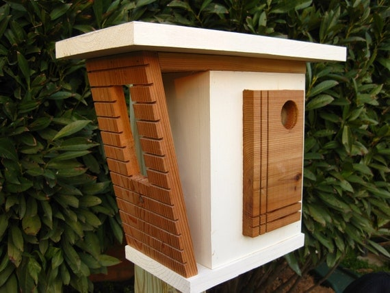 Storefront birdhouse designs and plans plans to build for Bird house styles