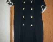 Vintage 80's Sailor Style Dress