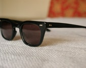 Vintage 50's/60's Black Halo Sunglasses