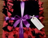 Paw Print Fleece Blanket 1-1/2 yards