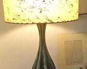 1950's Mid Century Lamp with Atomic Shade ///on hold for philippe///