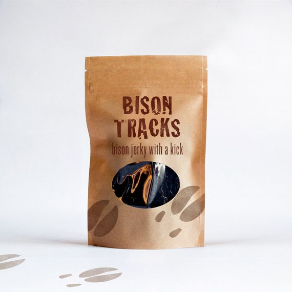 Bison Tracks 4 oz. Resealable Bag
