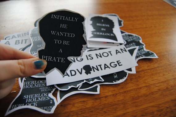 Huge Sherlock Sticker Pack