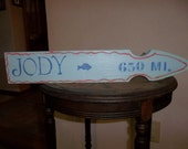 Lot of 4. Beachy signs for family trees