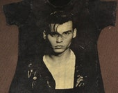 SALE vintage charcoal johnny depp shirt