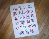 Alphabet Poster Musical Instrument ABC's