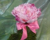 Pretty Pink Peony Floral Arrangement