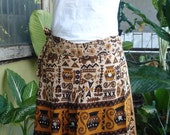 A-line SKIRT Bohemian Embroidered
