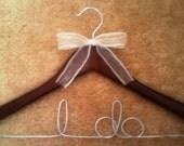 """Bridal hanger - """"I do"""" hanger"""