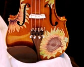 Sunflower Delight Standard Violin Outfit