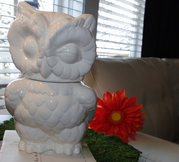 Owl Cookie Jar from Vintage mold