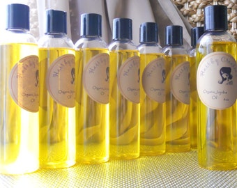 Organic Jojoba Oil - 4 oz, 8 oz (120/240 ml)