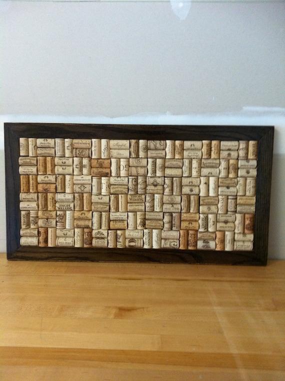 "Wine Cork Board 14"" x 27"""