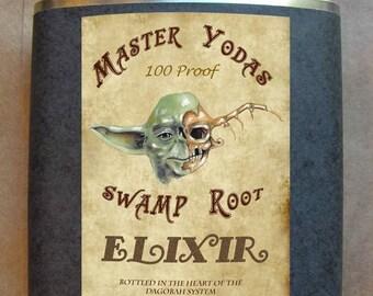 Star Wars Flask - Master Yodas Swamp Root