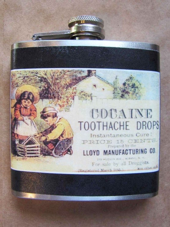Flask - Cocaine Toothache Drops
