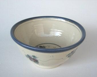Handmade Cafe au lait bowl, Cereal Bowl, Soup Bowl, Salad Bowl