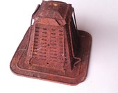 Vintage Stovetop Toaster Rusty Metal Kitchen Rusty Findings
