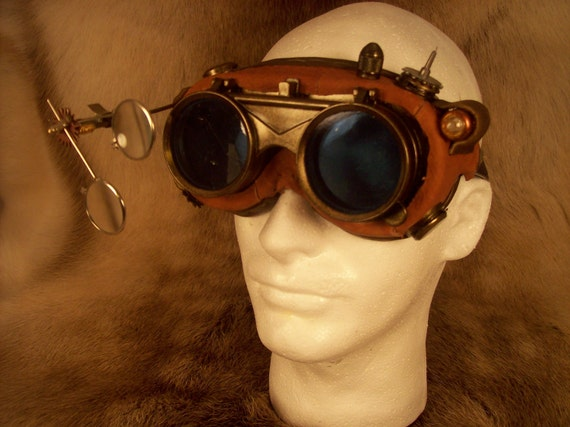 Steam Punk or Mad Scientist Goggles.