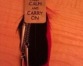 Keep Calm  Earrings