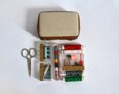 Vintage Spanish Travel Sewing kit