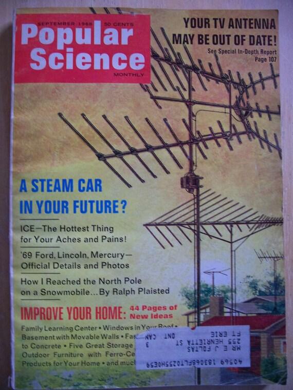 Sept 1968 Popular Science