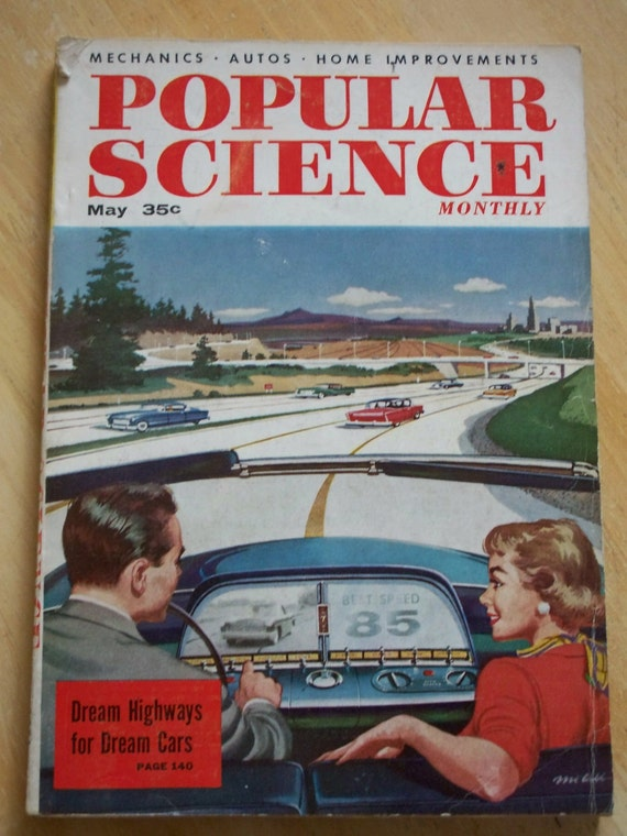 May 1956 Popular Science Monthly