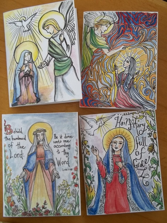 The Angelus Blank Note Cards With Prayer