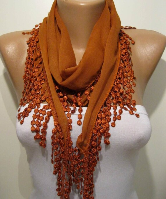 2 for $20 Select Scarves. $30 Off $90 with code SAVINGS 12 colors available. Shop Now Quick View. Share on Pinterest. Opens in a new window. Arielle Stretchy Oblong Scarf DARK ORANGE. dark orange Hayden Self Fringe Scarf $ 2 for $20 Select Scarves. $30 Off $90 with code SAVINGS 2 for $20 Select Scarves.