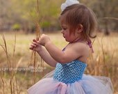 FREE Shipping--Pastel TUTU Dress with Sparkle Accents