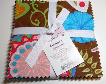 "Charm Pack - Cocoon by Valori Wells - 30 pieces, 6"" Squares"