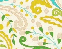 SALE Kumari Garden by Dena Designs for Free Spirit Sujata Blue 1 Yard Cut