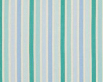 Shelby Stripe Blue: Pretty Little Things from Dena Desings.  Half Yard Cut