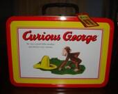 Vintage Curious George Tin - RARE