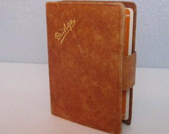 Vintage Leather Card Holder