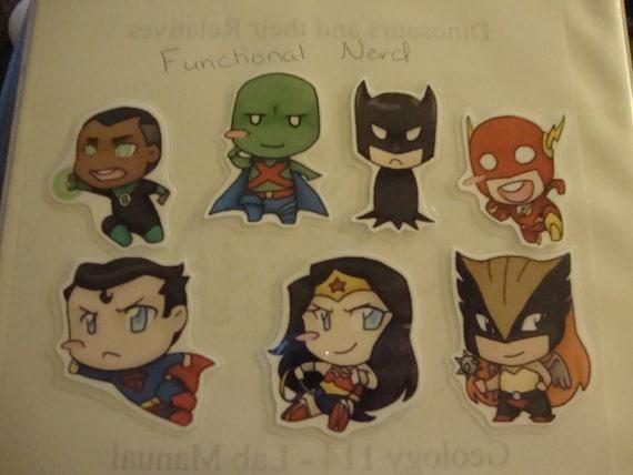 Justice League Door Chibi Set