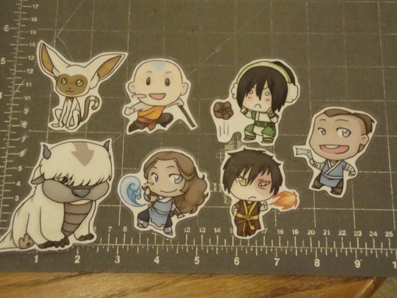 Avatar the Last Airbender Door Chibi Set