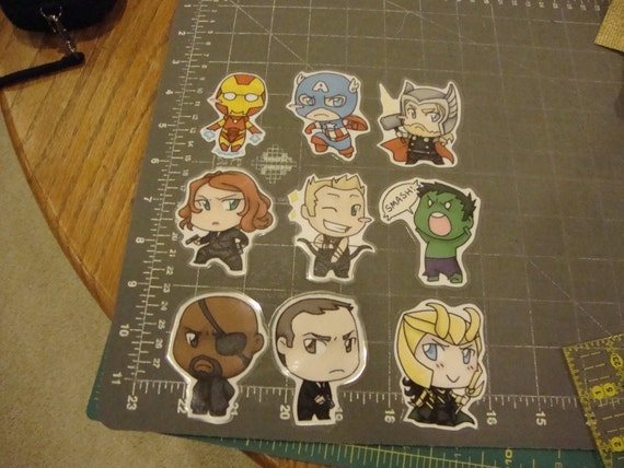 Avengers Deluxe Door Chibi Set