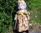 Country Rag Doll, cloth doll, soft doll, Christmas present, Birthday gift, cuddling doll, handmade Rag doll, display doll, play doll