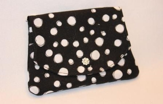 Fabric credit card wallet